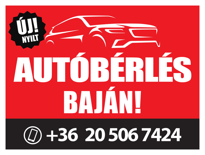 autóbérles Baján